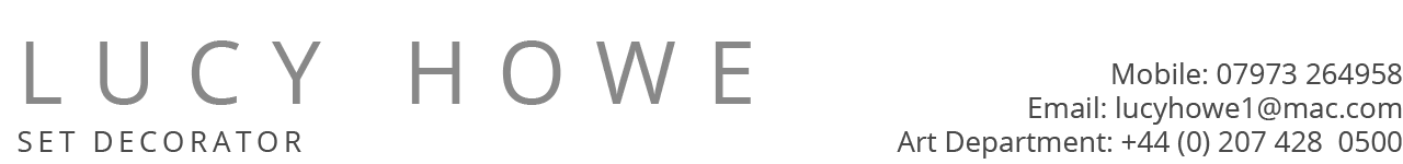 Lucy Howe Website Logo and Contact Details